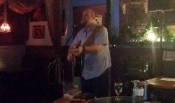 Jason Colannino at  Crane's BeachHouse Tiki Bar