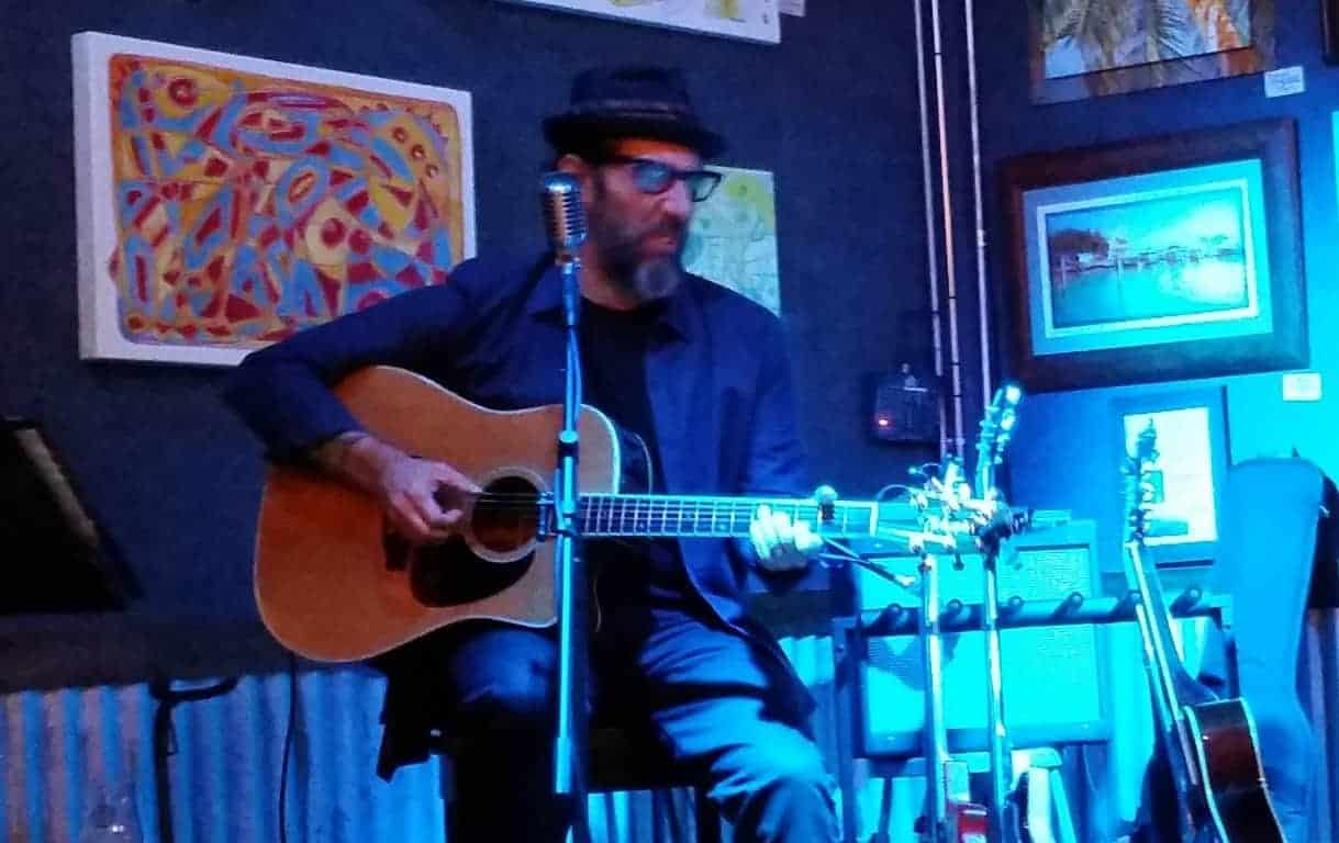 Mark Telesca at the Loch Bar