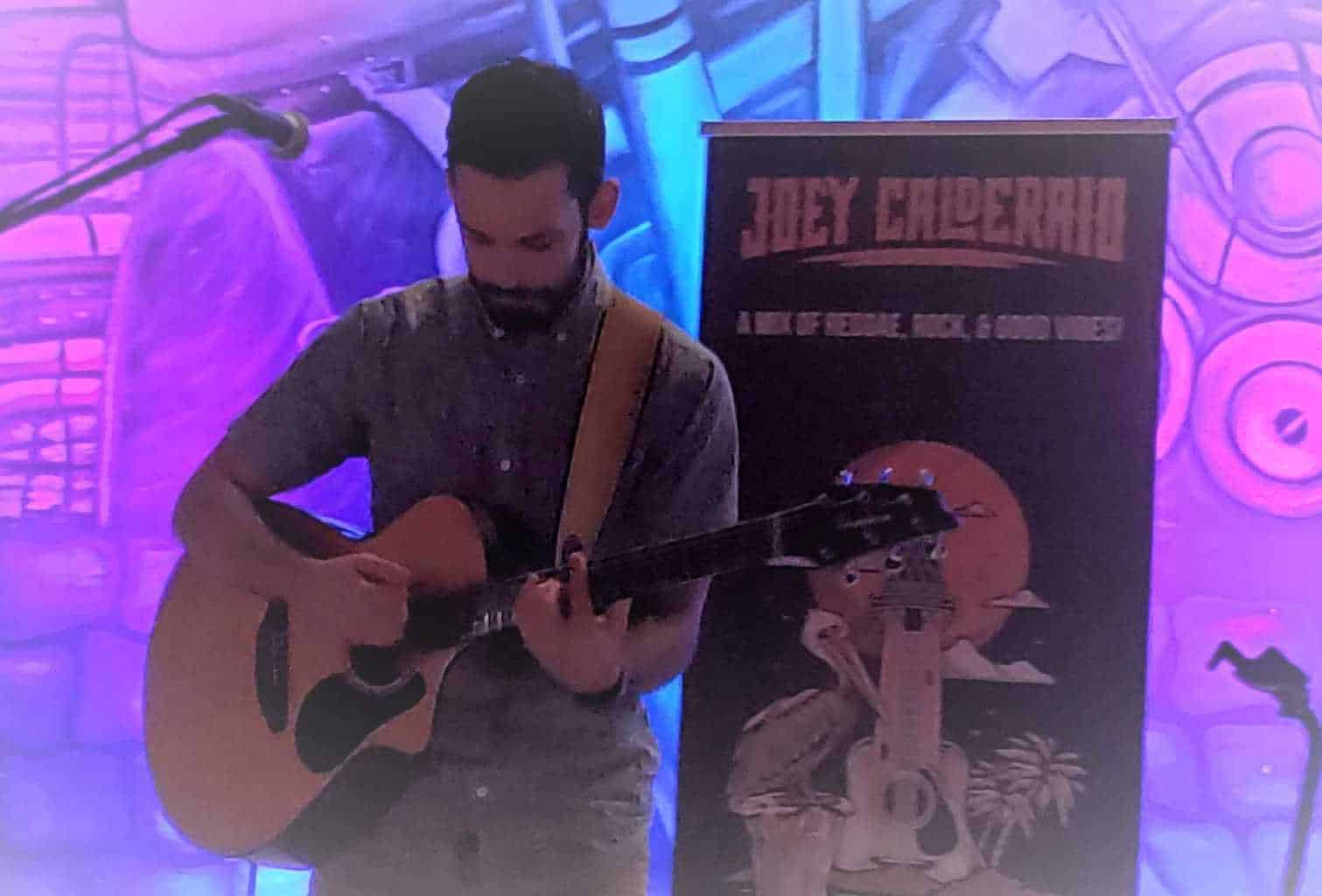 Joey Calderaio at Salt Water Brewery