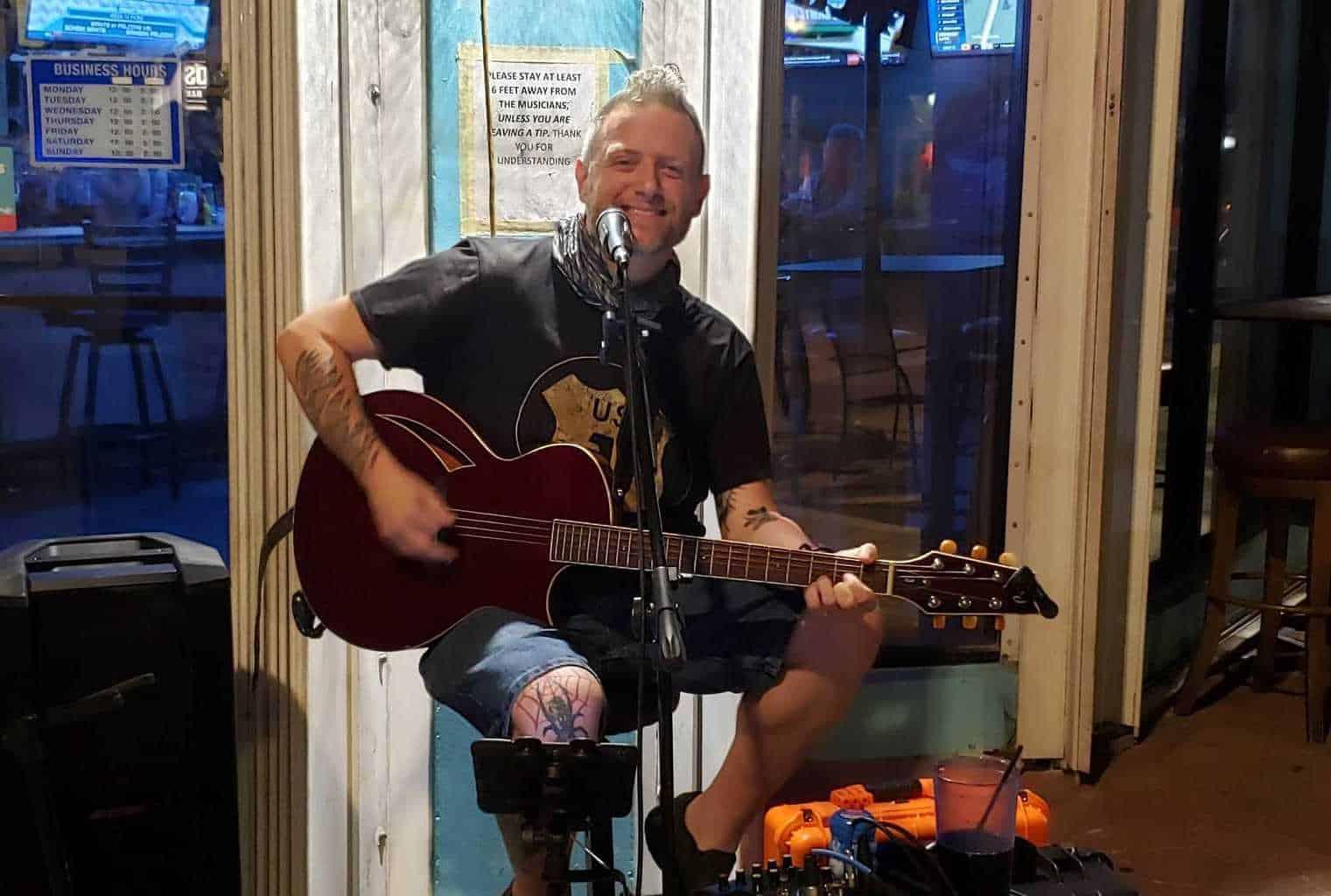 Lane Braden at Max's Grille