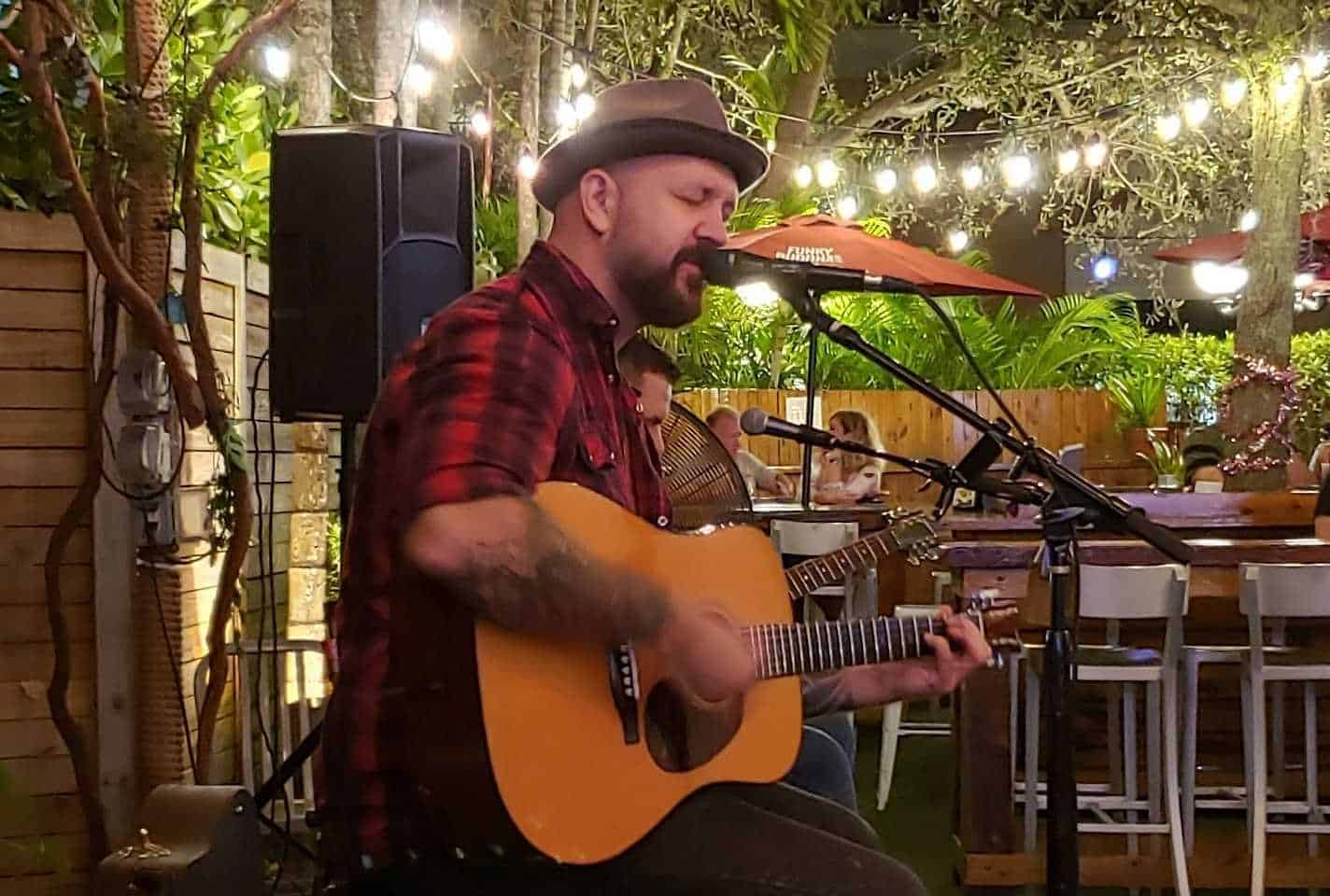 Mitch Herrick at the Loch Bar