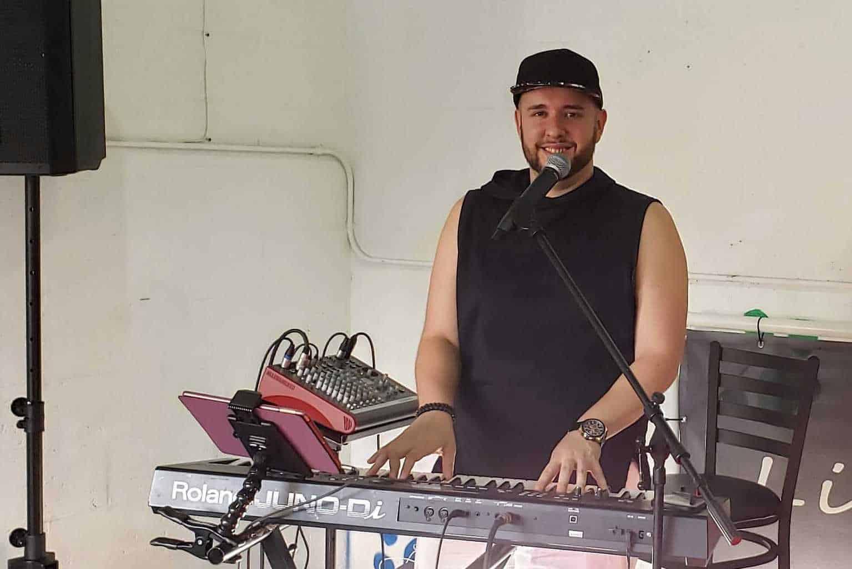 Eddie Bustamante at Tin Roof Delray Beach