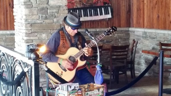 Joey George at Driftwood